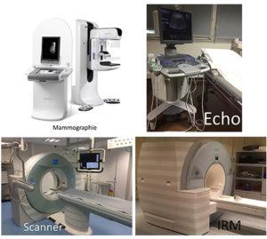 Différents appareils d'imagerie médicale pour la cancérologie
