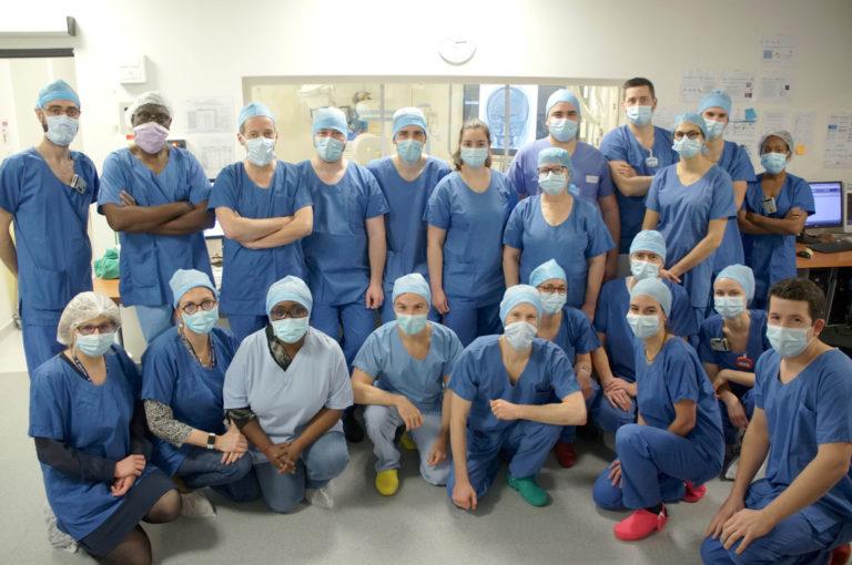 L'équipe de neuroradiologie interventionnelle
