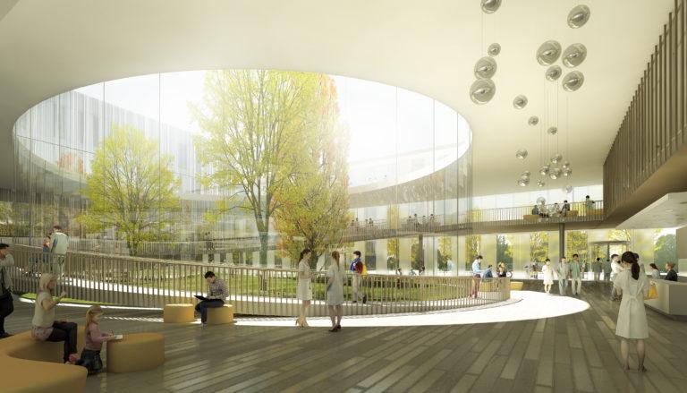 NHT - hall du Nouvel Hôpital Trousseau