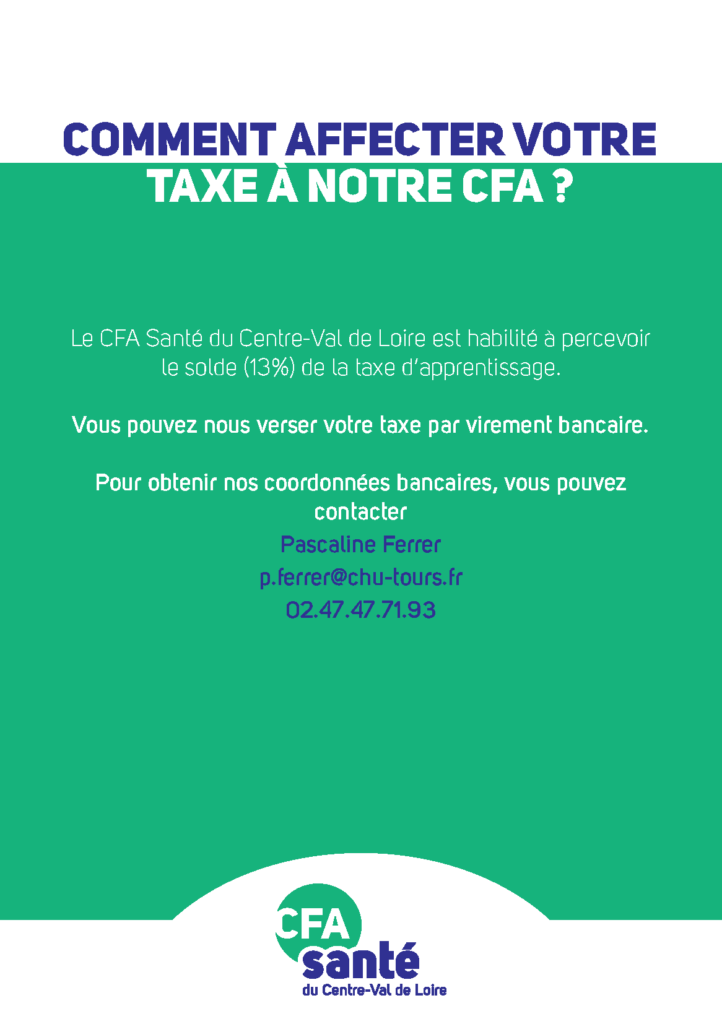 Comment affecter votre taxe d'apprentissage à notre CFA ?