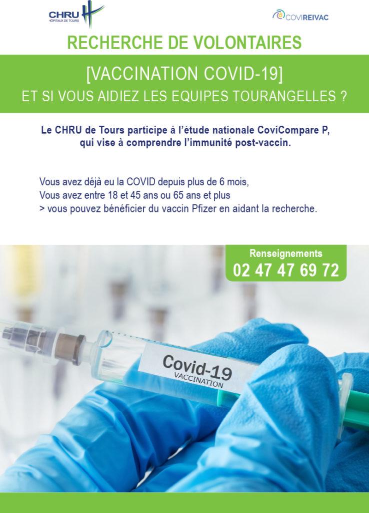 [Recherche COVID-19] - Pour une étude vaccinale, le CHRU a besoin de volontaires
