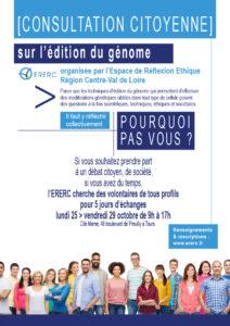 Edition du génome - une consultation citoyenne pour une réflexion collective