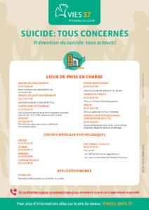 Suicide - les lieux de prise en charge