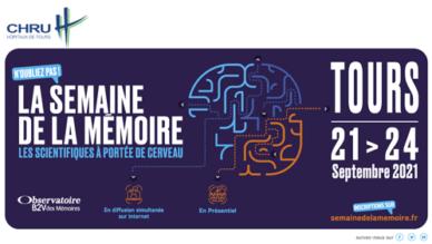Du 21 au 24 septembre se déroulera à Tours la Semaine de la mémoire